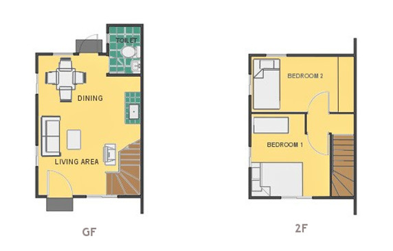 Mikaela Floor Plan House and Lot in Butuan
