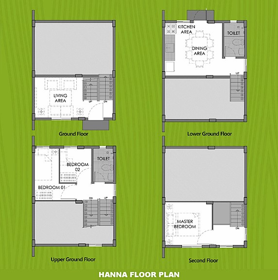 Hanna Floor Plan House and Lot in Butuan