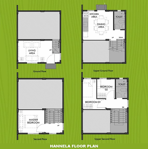 Hannela Floor Plan House and Lot in Butuan