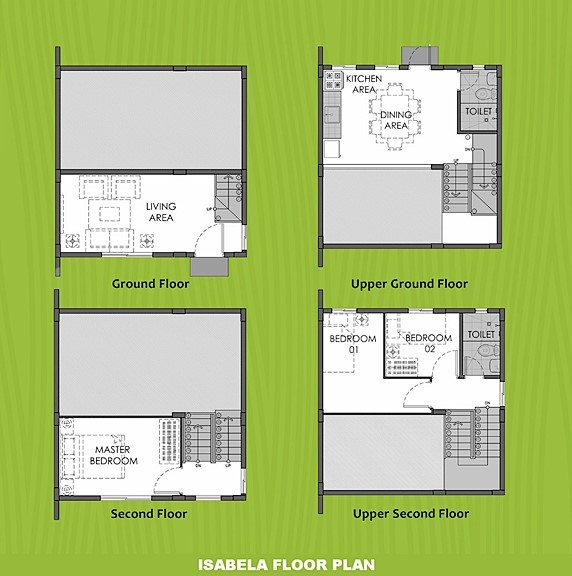 Isabela Floor Plan House and Lot in Butuan