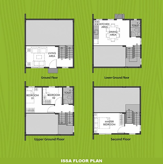 Issa Floor Plan House and Lot in Butuan