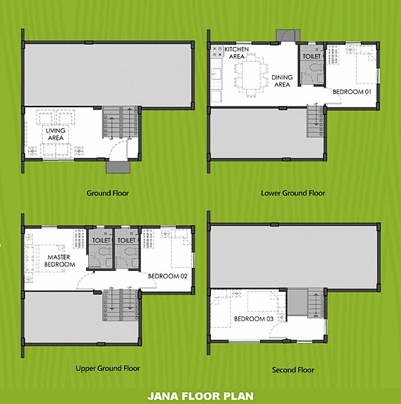 Janna Floor Plan House and Lot in Butuan