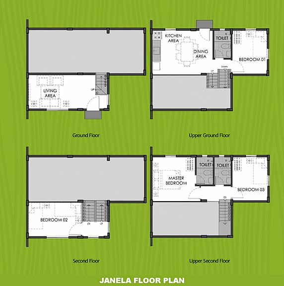 Janela Floor Plan House and Lot in Butuan