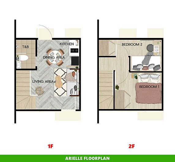 Arielle Floor Plan House and Lot in Butuan