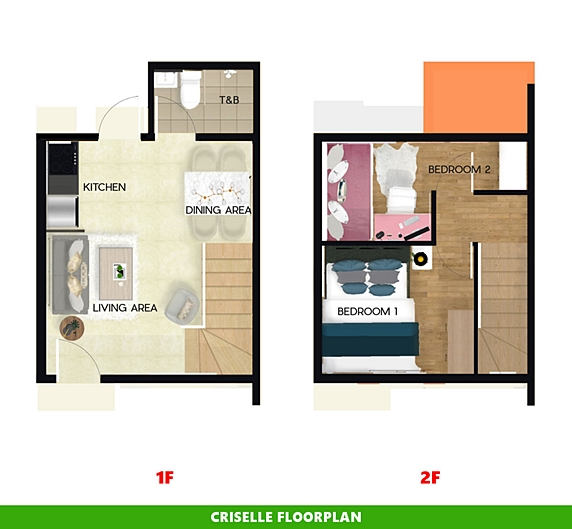 Criselle Floor Plan House and Lot in Butuan