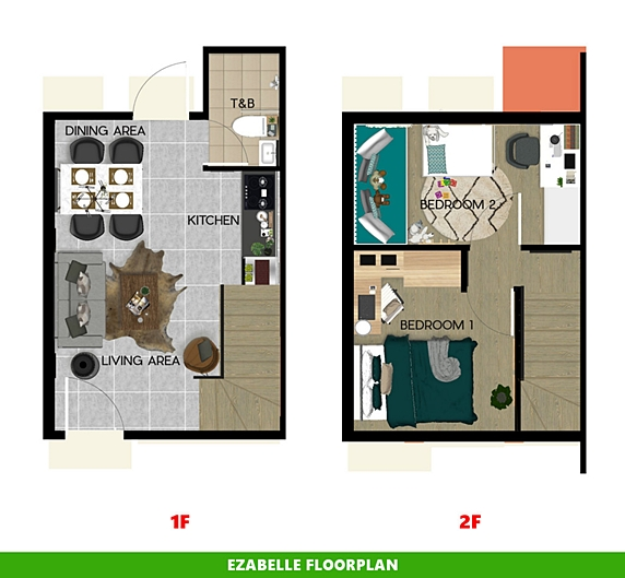 Ezabelle Floor Plan House and Lot in Butuan