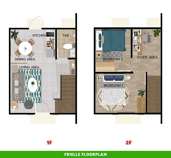 Frielle Floor Plan House and Lot in Butuan