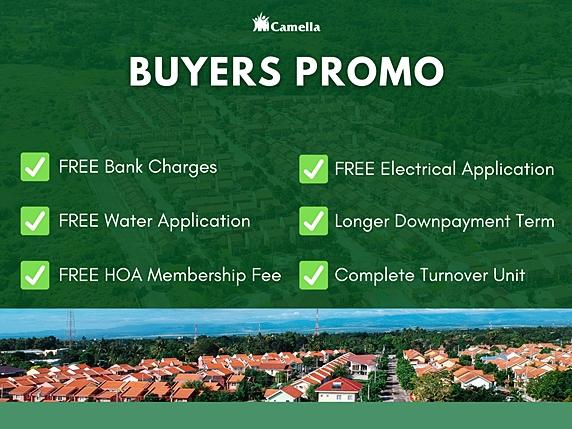Promo for Camella Butuan.