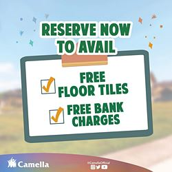 Promo for Camella Butuan.